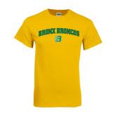 Gold T Shirt-Bronox Broncos