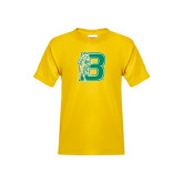 Youth Gold T Shirt-Bronoc