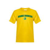 Youth Gold T Shirt-Bronox Broncos
