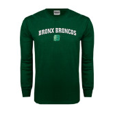 Dark Green Long Sleeve T Shirt-Bronox Broncos