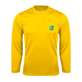 Performance Gold Longsleeve Shirt-Bronoc