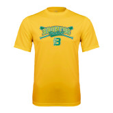 Performance Gold Tee-Cross Bats Design
