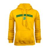Gold Fleece Hoodie-Bronox Broncos