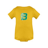 Gold Infant Onesie-Bronoc
