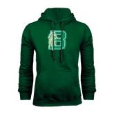 Dark Green Fleece Hood-Bronoc