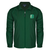 Full Zip Dark Green Wind Jacket-Bronoc
