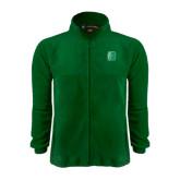 Fleece Full Zip Dark Green Jacket-Bronoc
