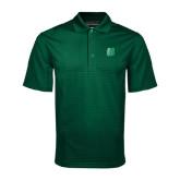 Dark Green Mini Stripe Polo-Bronoc