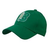 Kelly Green Heavyweight Twill Pro Style Hat-Bronoc