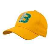 Gold Heavyweight Twill Pro Style Hat-Bronoc
