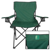 Deluxe Green Captains Chair-Bronoc