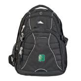 High Sierra Swerve Black Compu Backpack-Bronoc