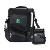 Momentum Black Computer Messenger Bag-Bronoc