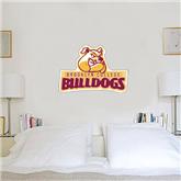 2 ft x 3 ft Fan WallSkinz-Brooklyn College Athletic Mark
