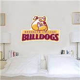 4 ft x 5 ft Fan WallSkinz-Brooklyn College Athletic Mark