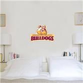 1.5 ft x 2 ft Fan WallSkinz-Brooklyn College Athletic Mark