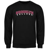 Black Fleece Crew-Brooklyn College Arched