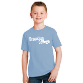 Youth Light Blue T Shirt-Brooklyn College