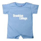 Light Blue Infant Romper-Brooklyn College