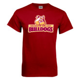 Cardinal T Shirt-Brooklyn College Athletic Mark