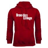 Cardinal Fleece Hoodie-Brooklyn College