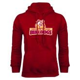 Cardinal Fleece Hoodie-Brooklyn College Athletic Mark