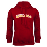 Cardinal Fleece Hoodie-Cheerleading