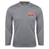 Performance Steel Longsleeve Shirt-Brooklyn College Athletic Mark