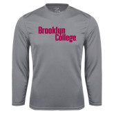 Performance Steel Longsleeve Shirt-Brooklyn College