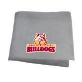 Grey Sweatshirt Blanket-Brooklyn College Athletic Mark