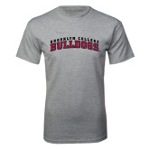 Grey T Shirt-Bulldogs Arched