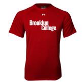 Under Armour Cardinal Tech Tee-Brooklyn College