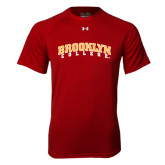 Under Armour Cardinal Tech Tee-Brooklyn College Arched