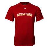 Under Armour Cardinal Tech Tee-Swimming and Diving