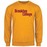 Gold Fleece Crew-Brooklyn College