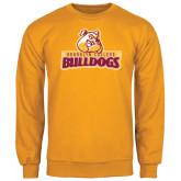 Gold Fleece Crew-Brooklyn College Athletic Mark