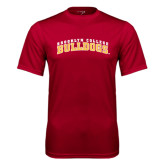 Performance Cardinal Tee-Bulldogs Arched