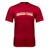 Performance Cardinal Tee-Swimming and Diving