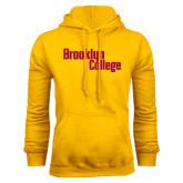Gold Fleece Hoodie-Brooklyn College