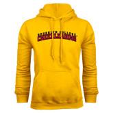 Gold Fleece Hoodie-Cheerleading