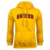 Gold Fleece Hoodie-Soccer