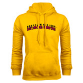 Gold Fleece Hoodie-Swimming and Diving