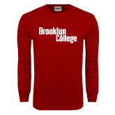 Cardinal Long Sleeve T Shirt-Brooklyn College