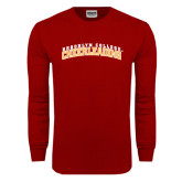 Cardinal Long Sleeve T Shirt-Cheerleading