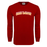 Cardinal Long Sleeve T Shirt-Cross Country