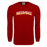 Cardinal Long Sleeve T Shirt-Volleyball