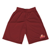 Performance Classic Maroon 9 Inch Short-Brooklyn College Athletic Mark