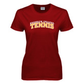 Ladies Cardinal T Shirt-Tennis