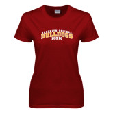 Ladies Cardinal T Shirt-Mom