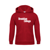 Youth Cardinal Fleece Hoodie-Brooklyn College